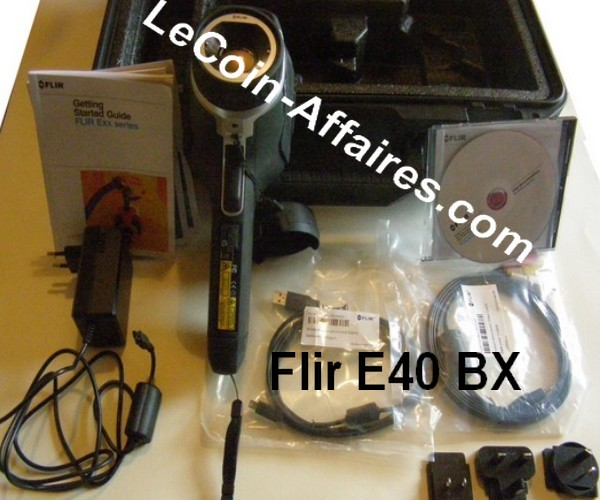 Caméra thermique Flir E 40 BX - 2417 €  HT