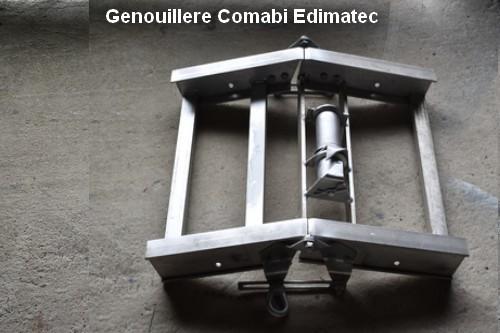 Genouillère Monte matériaux Comabi  Edimatec