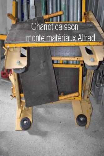 Caisse matériaux chariot Altrad