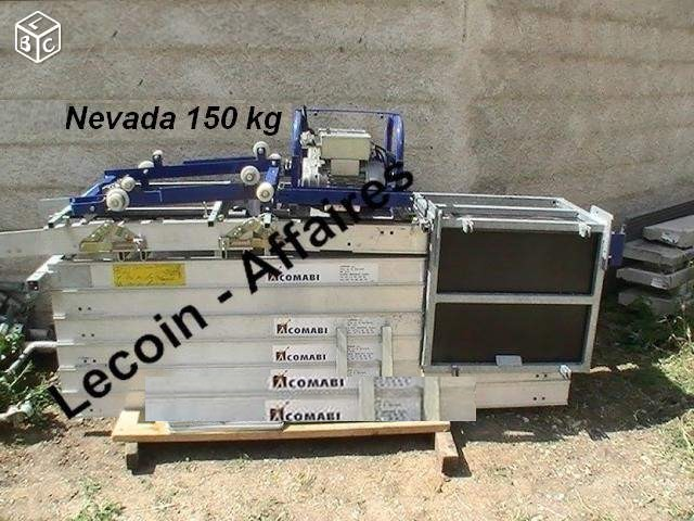 Monte matériaux  NEVADA  Comabi Tubesca