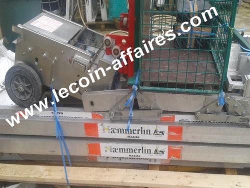 monte matériaux Haemmerlin Maxal Pro 445 - 200 kg hauteur 11m